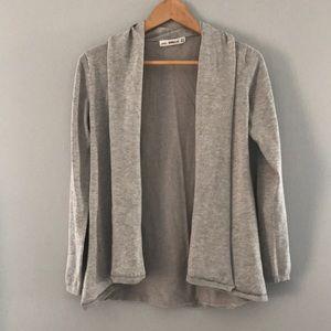 Zara knit gray sweater cardigan